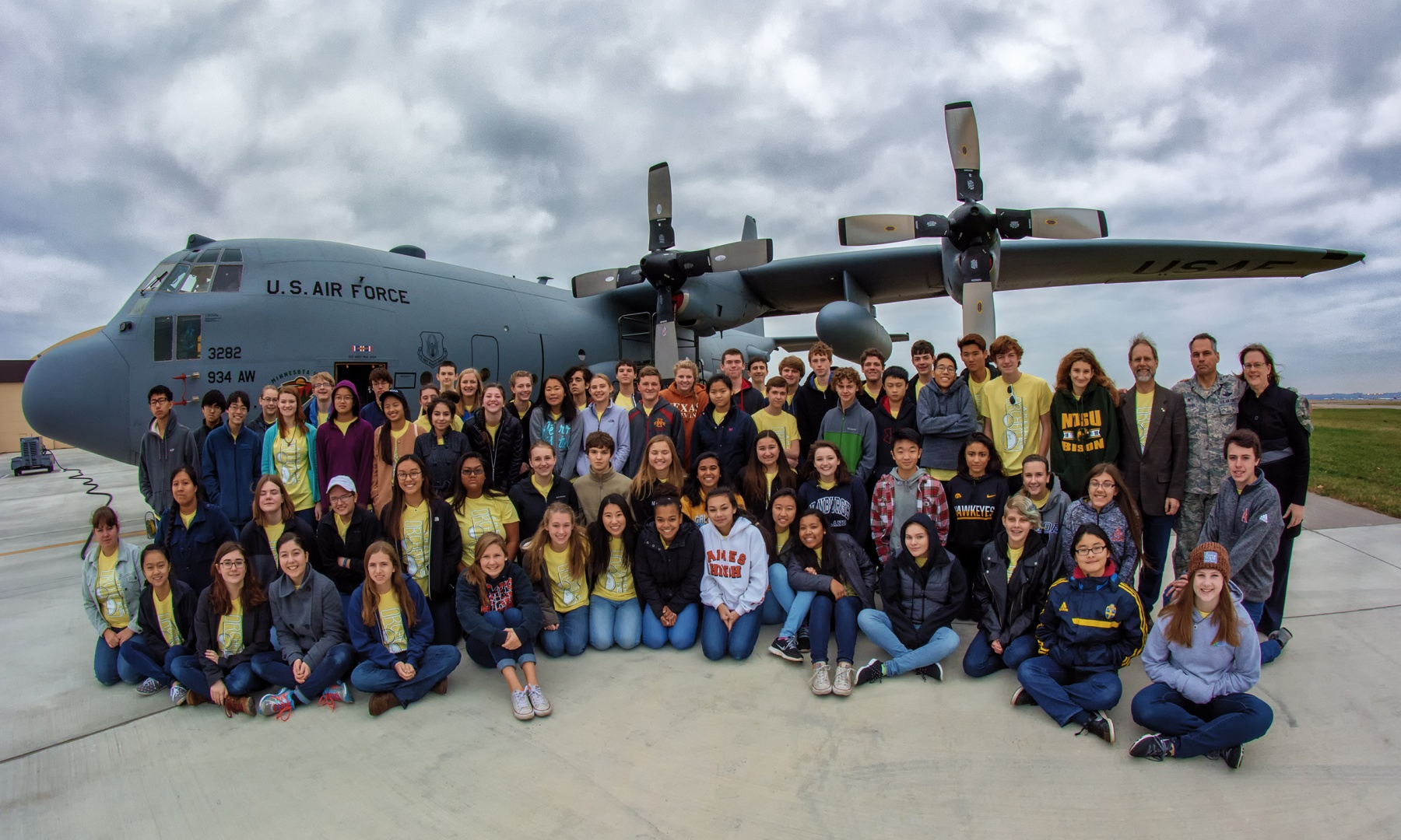 Orchestra C130 AirForce Plane