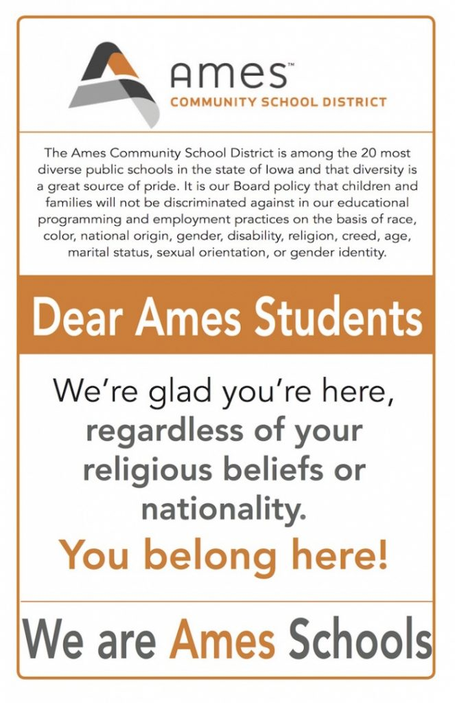 We are ames schools1