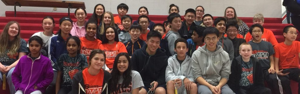 2017 combined science olympiad teams