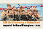 Swimming National Champions