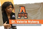 Valerie Nyberg New Ames High Principal