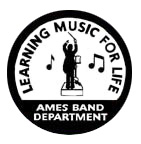 Ames High Band Logo