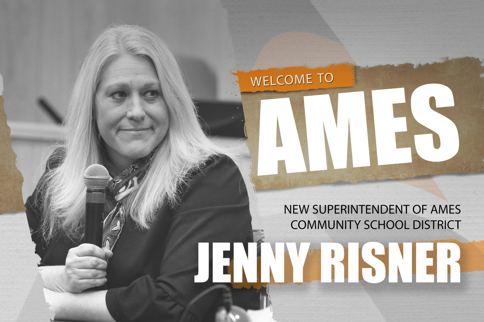 Jenny Risner named the Next Superintendent of Ames Community