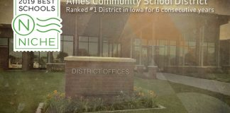 Ames CSD Ranked Best District in the State for 6th Consecutive Year by Niche