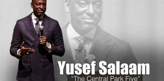 "Yusef Salaam, One of the ""Central Park Five,"" Speaks to Ames CSD Staff"
