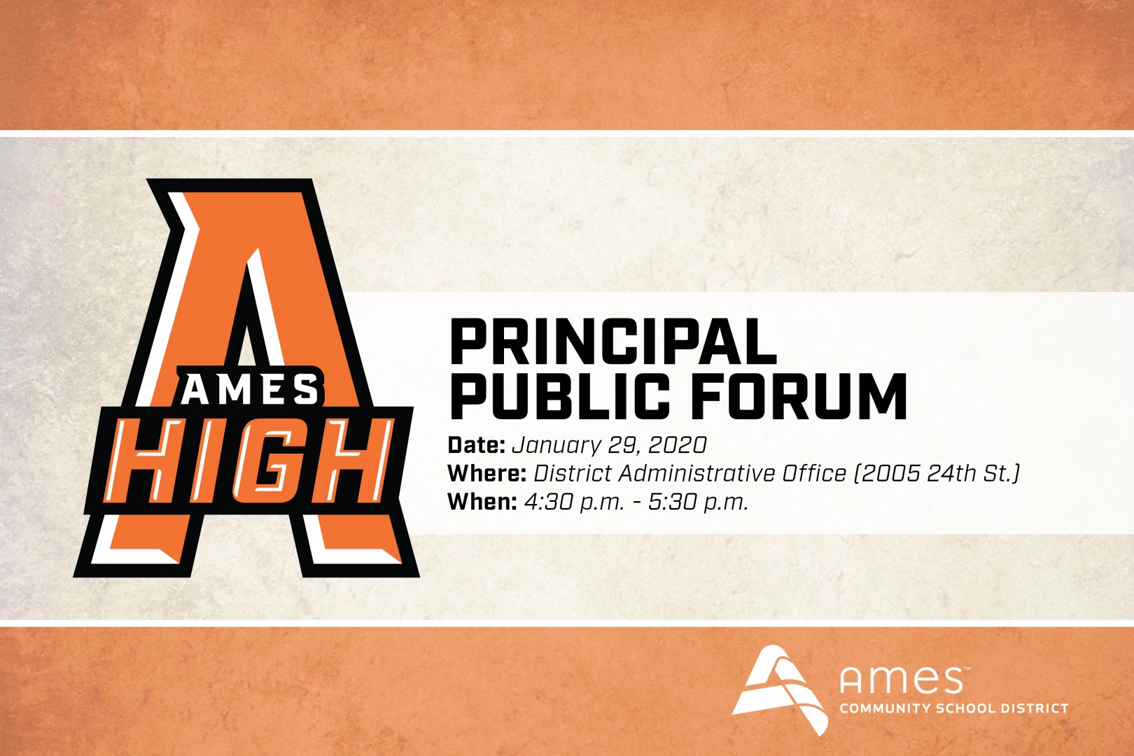 01 Ames High Principal Public Forum