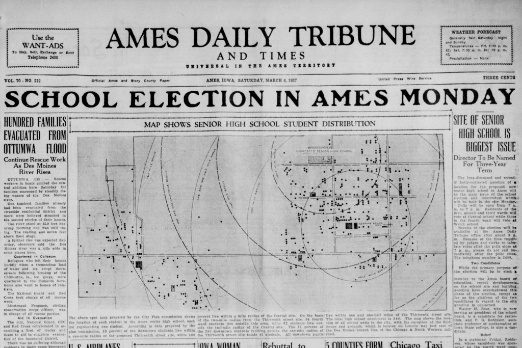 Ames daily tribune and times mar 06 1937 p 1 2