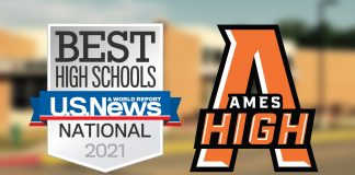 """Ames High Named """"Best"""" High School in National Report"""