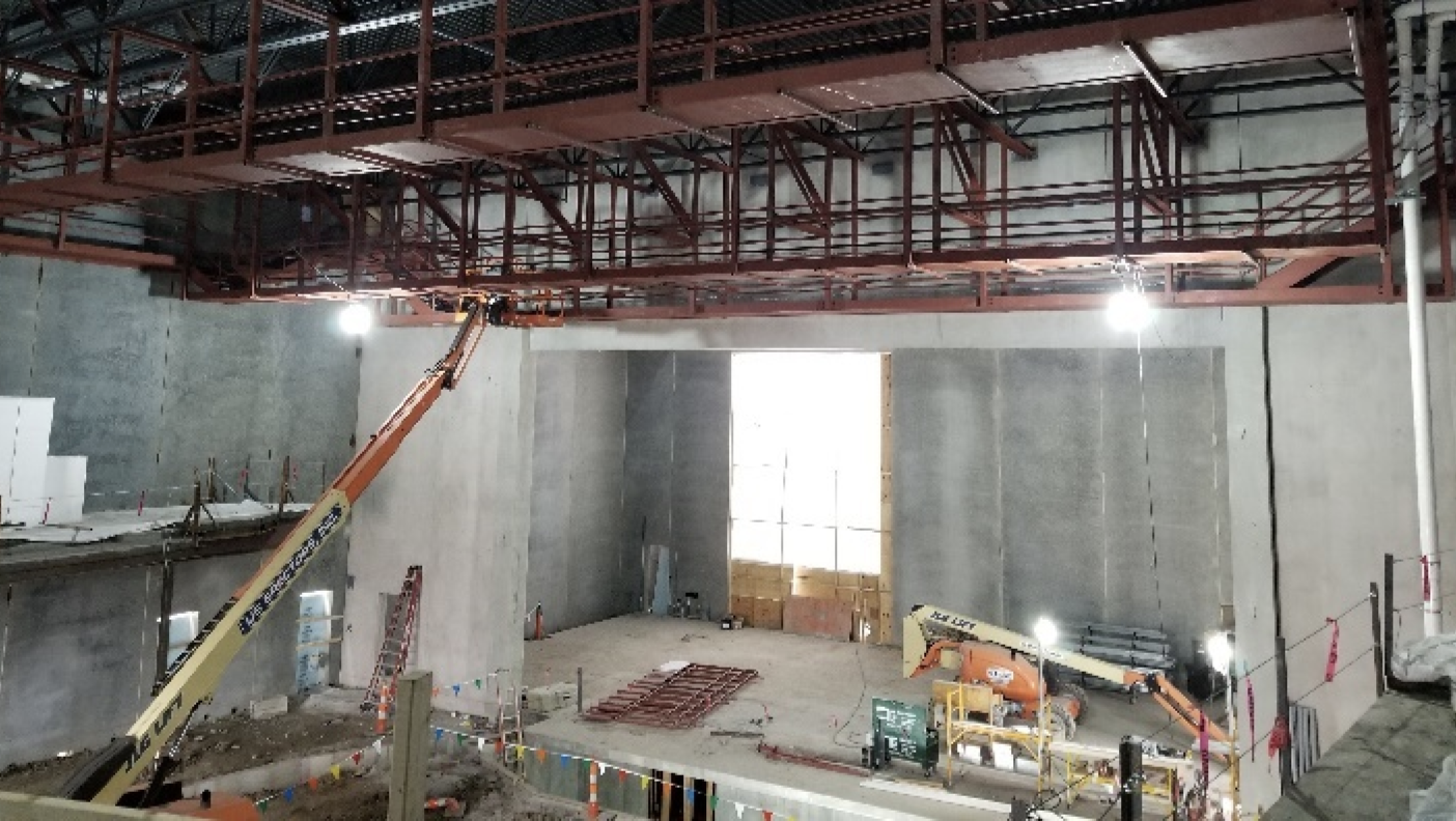 Ames High pool construction