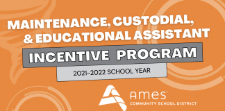 Maintenance, Custodial, and Educational Assistant Incentive Program (2021-2022)